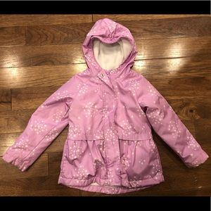 OshKosh B'Gosh Purple Star Winter Puffy